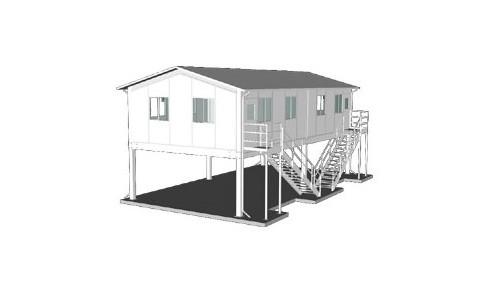 Modular Raised Office
