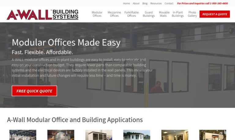 A-WALL™ Building Systems