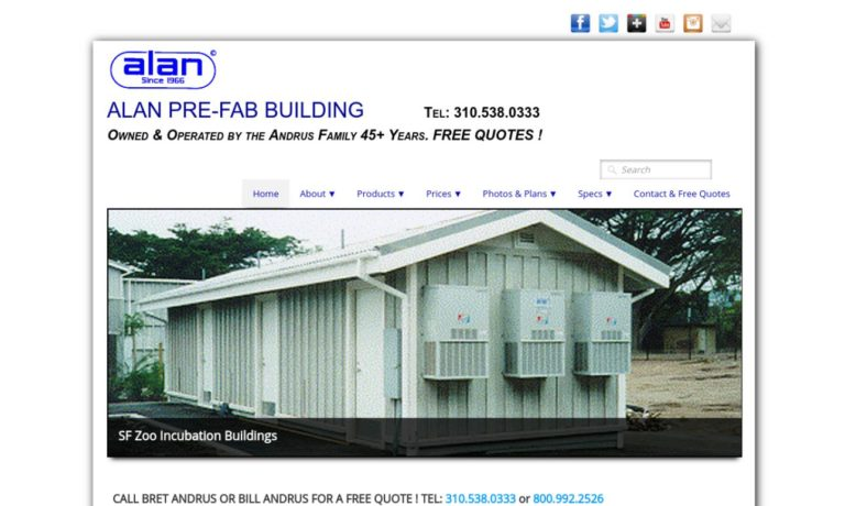 Alan Pre-Fab Building Corporation