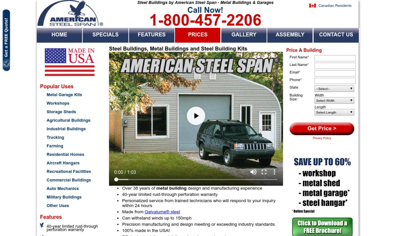 American Steel Span Buildings