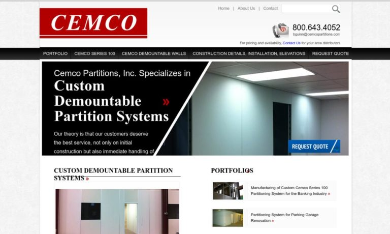 Cemco Partitions, Inc.