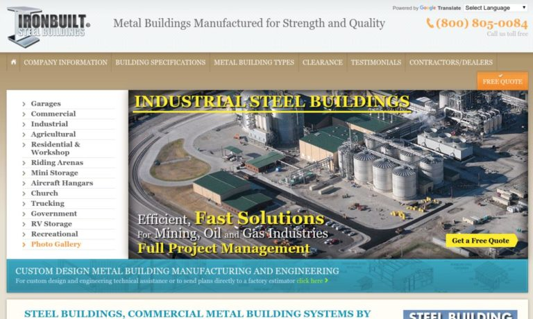 Ironbuilt Steel Buildings