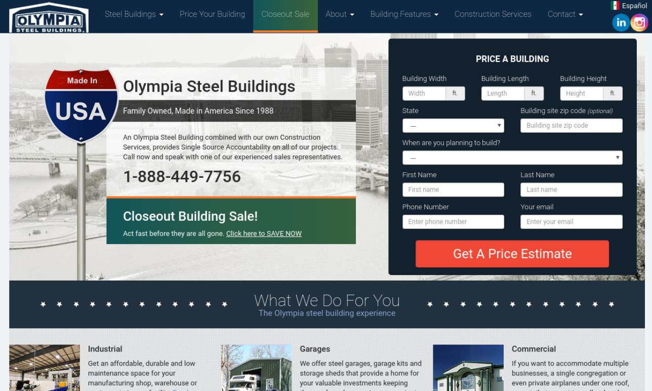 Olympia Steel Buildings Systems