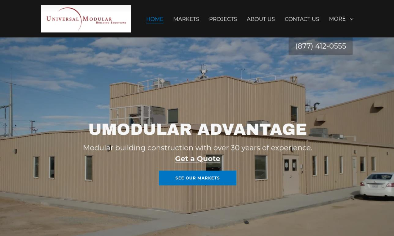 Universal Modular Building Solutions, Inc.